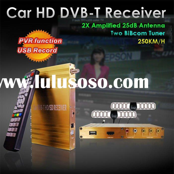 high quality H.264 Car dvb-t hd car tuner