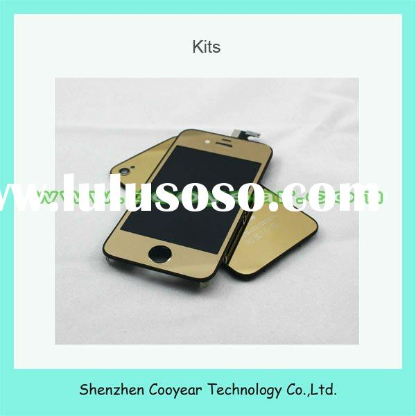 high quality mirror gold testing kit for iphone 4 paypal is accepted