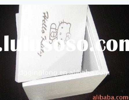hot sell modern custom white antique wood boxes hand carved