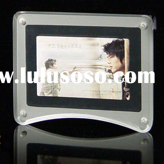 latest poster frame / perspex magnet picture rack / perspex photo frame