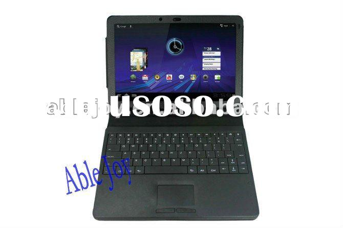 leather case with keyboard for Samsung galaxy Tab 7 Plus P6200