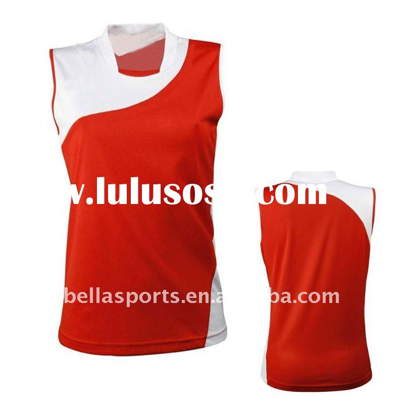 light color sportswear,high school sports jersey for cherrying section wear,hign school uniform
