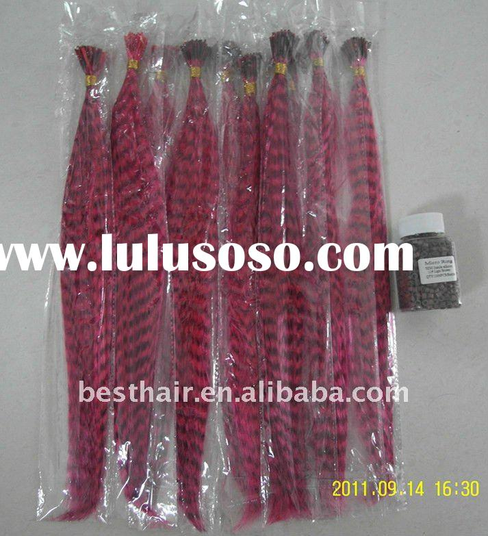 long thin rooster saddle feathers wholesale hair extensions