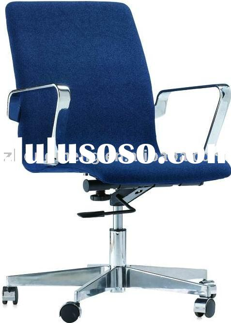 low back office chair with height adjustment and swivel function