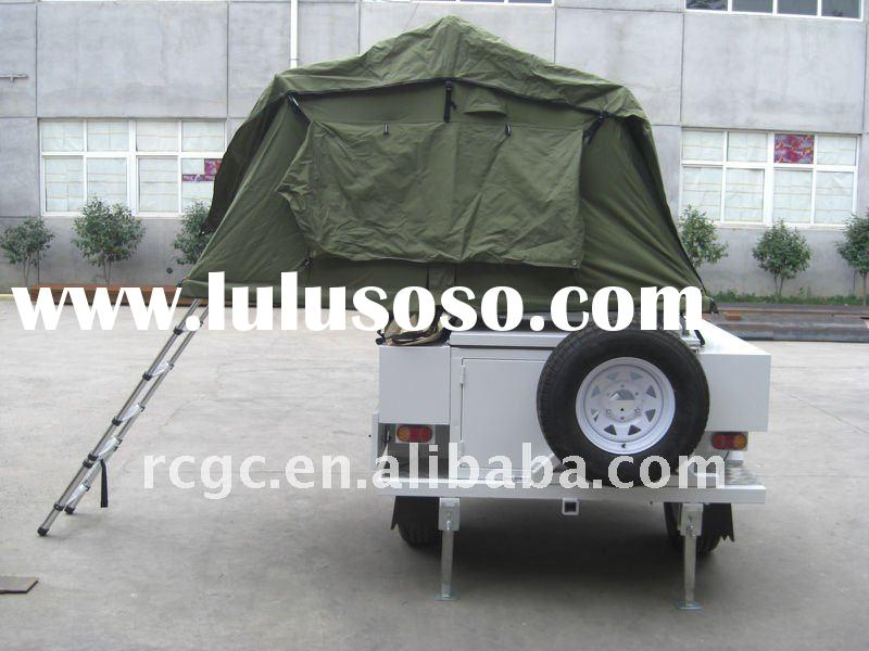 mini folding 4wd 360 degree coupler tent trailers/camper trailer