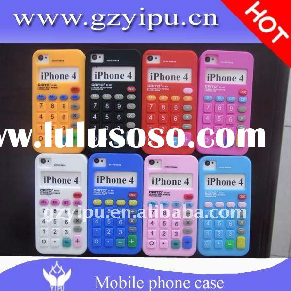 new Silicon Telephone Design Cellphone Cover for Apple iPhone 4