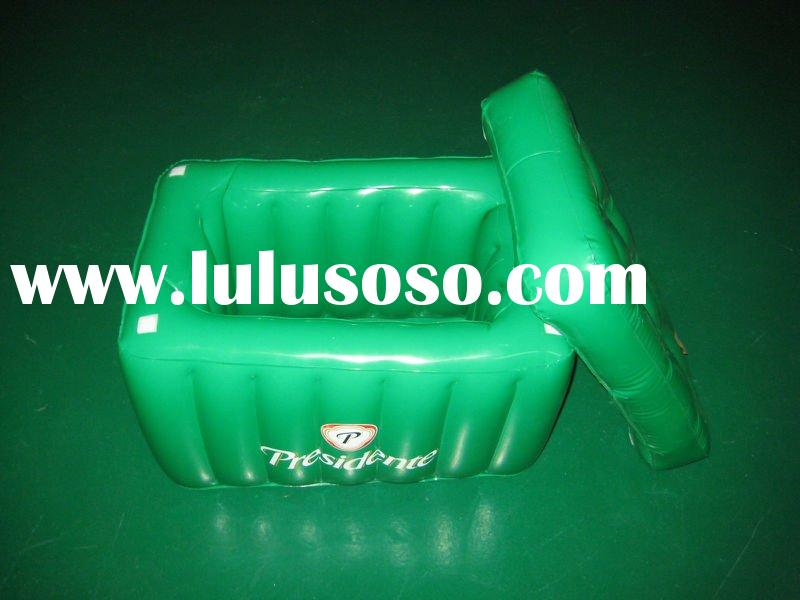 plastic square ice bucket with lid