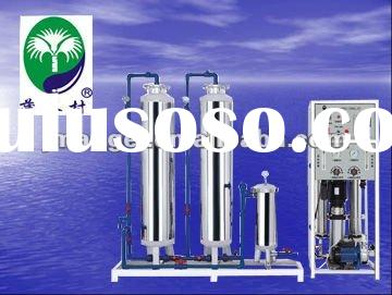 pure water treatment machine for 300L/H with ro system