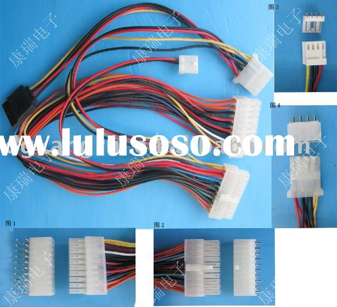 right/straight angle wafer/cable/wiring harness assembly