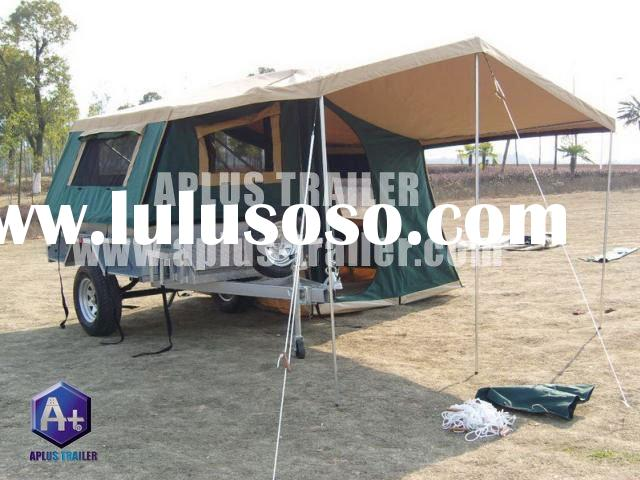 soft floor camping trailer car trailer travel trailer folding camper trailer