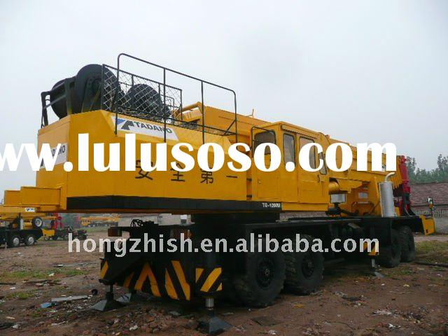 used Tadano crane with truck TADANO 120tons loading capacity in bottom price