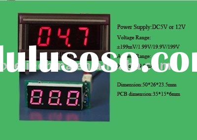 voltmeter for measure and monitor the battery and electrical system in Car, RV, Boat, Motorcycle, So