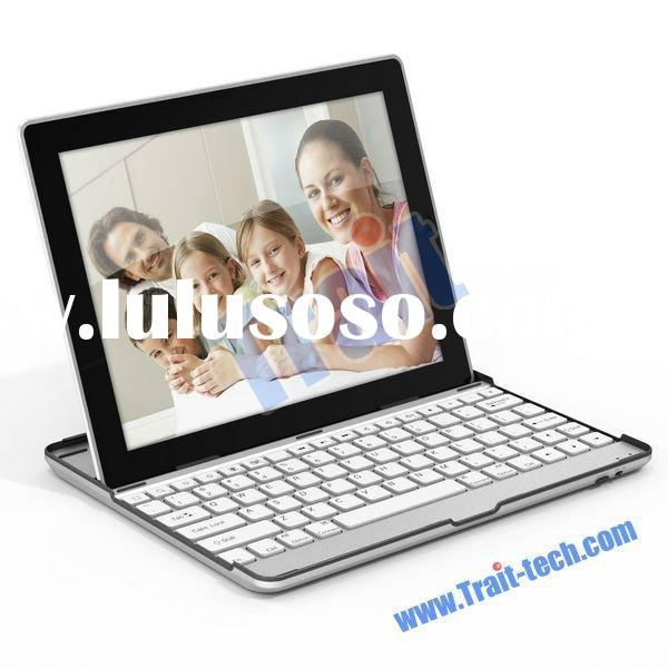 wireless bluetooth keyboard for ipad 2 with Aluminum Case Holder
