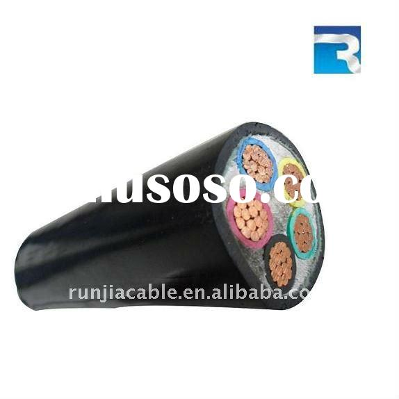 0.6/1kV Copper PVC Insulated PVC or PE Sheathed Wire and Cable