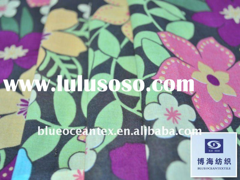 100% Glitter Printed Cotton Fabric Pure Cotton Printed Sheeting Fabric Cotton Fabric Factory In Huzh