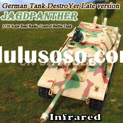 1/16 INFRARED RC TOY TANK WITH SMOKING SET