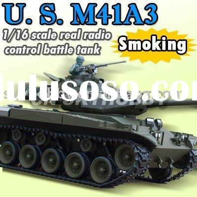 1 /16 U.S.M41A3 With Smoking Set BATTLE RC TANK