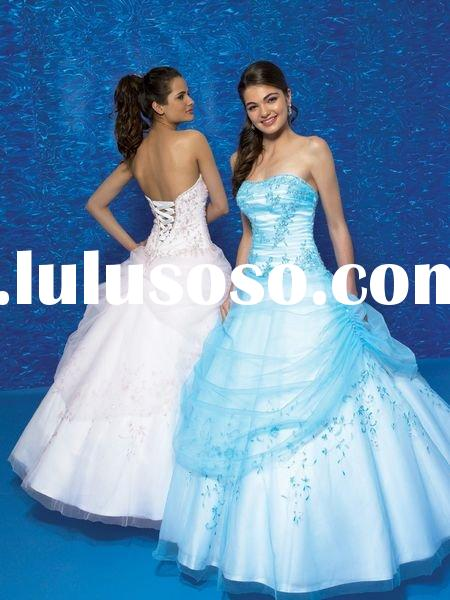 2010 Princess ball grown prom dresses with high quality