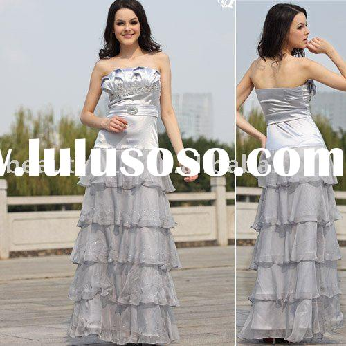 2010 beautiful and chiffon made evening dress prom dress and formal dress EUAH0266