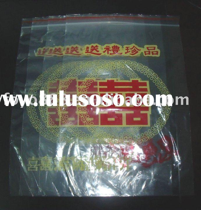 2011FOSHAN Plastic grip self seal bag/zip lock bag/Plastic bag for Packing
