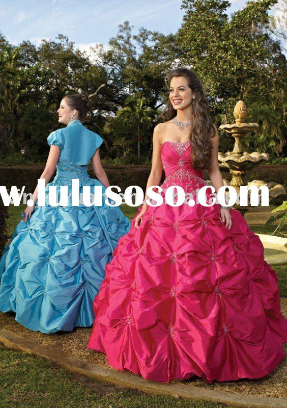 2011 New arrival prom dresses MLQ-259 ball gown high quality best seller quinceanera dresses Formal