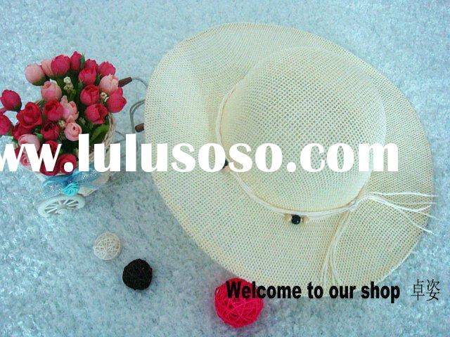 2011 beads sun hat in fashion accessories