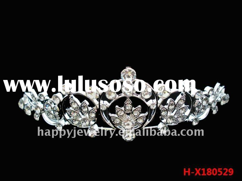 2011 wedding tiara, pageant crown and tiara, diamond tiara