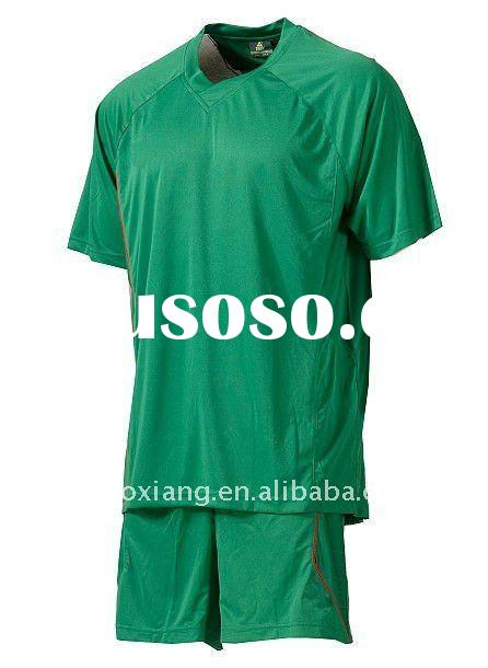 2012 men's latest fashion soccer uniform