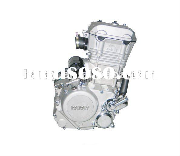 2012 new DOHC 4 valve 6 speed manual electric 250cc water cooled engine HY170MM-DOHC