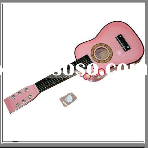 "23"" Children Acoustic Guitar + Pick + Strings Pink"