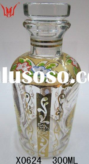 300 ML Vintage Victorian Glass Perfume Bottles