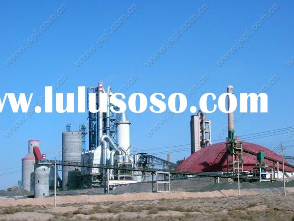 300 tpd new dry process mini cement plant