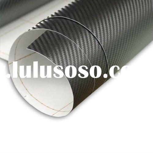 3d carbon fiber vinyl roll black color 1.52mx30m CF-001