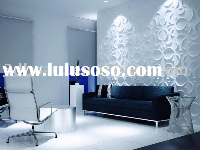 3d emboss and decorative wall panels