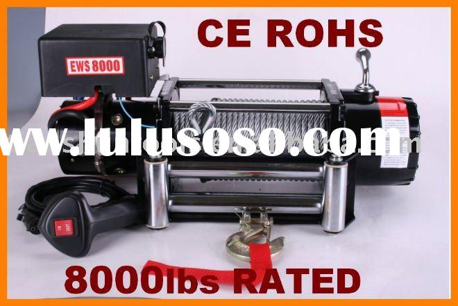 4WD Electric Winch 8000lbs similar with warn winch