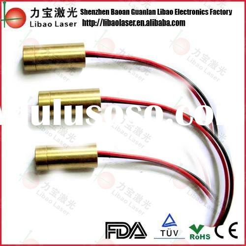 650nm 5mW (Red) laser module CROSS 3VDC 9mm X 22mm