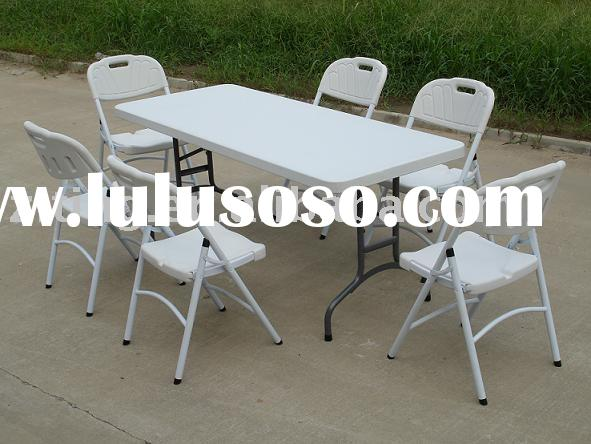 6ft plastic outdoor table
