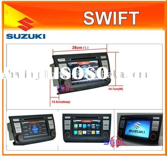 "7"" Special Car DVD Player with GPS for SUZUKI Swift"