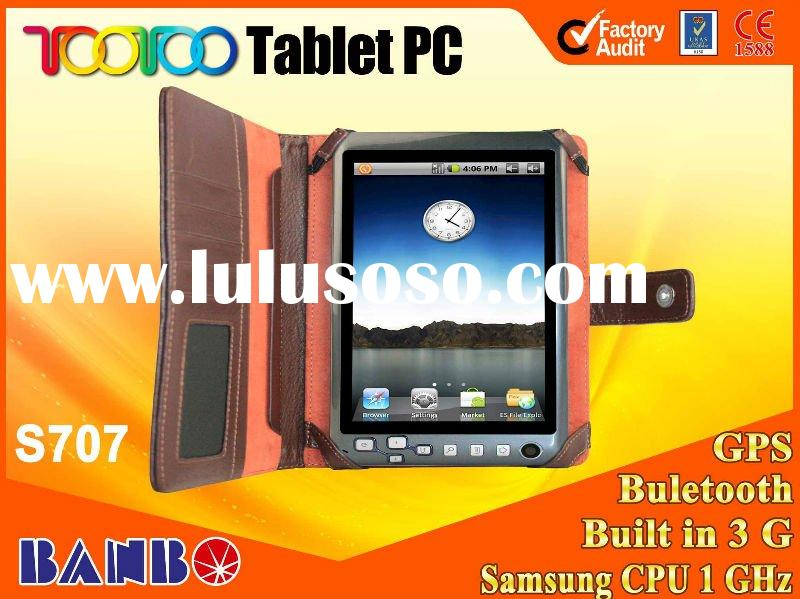 7 inch samsung chipset built in 3g android tablet pc