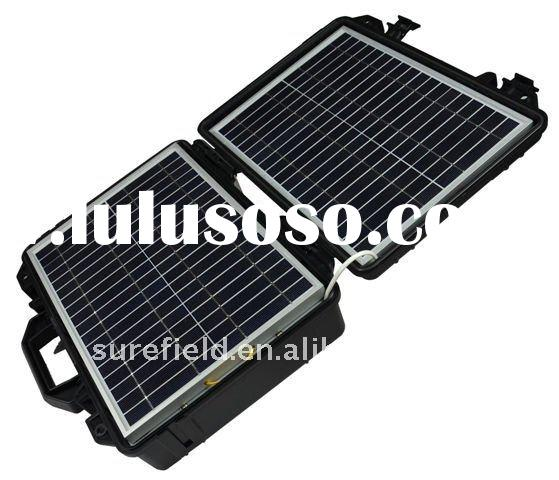 ABS case Portable Solar Power Kit