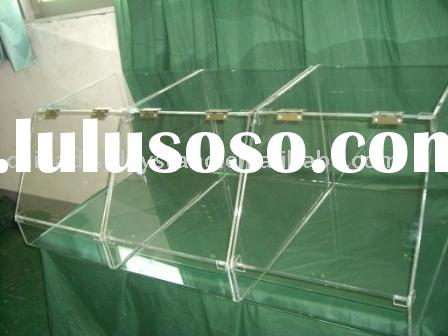 Acrylic bakery display case,acrylic bulk food bin,acrylic pastry display case, acrylic bin, acrylic