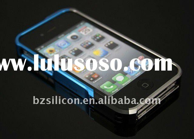 Aircraft aluminum Vapor pro bumper case for iphone 4 4gs