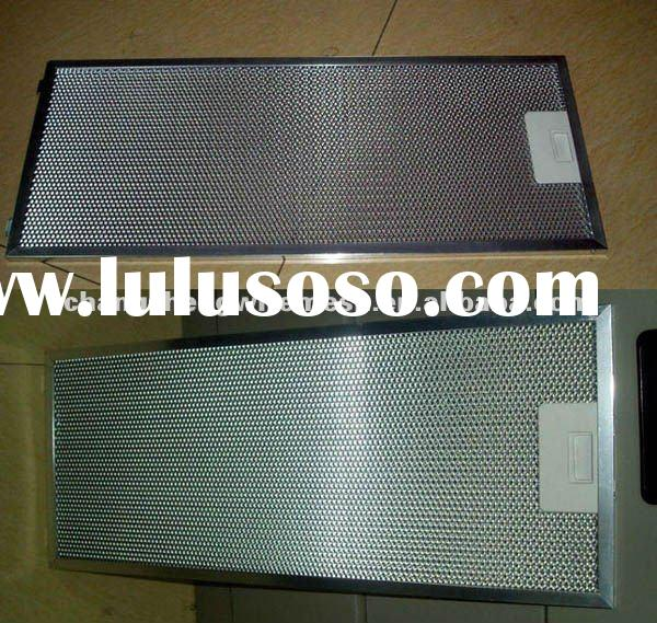 Aluminum Mesh Grease Filter/Washable Aluminum Grease Filter/Kitchen Range Hoods Aluminium Grease Fil