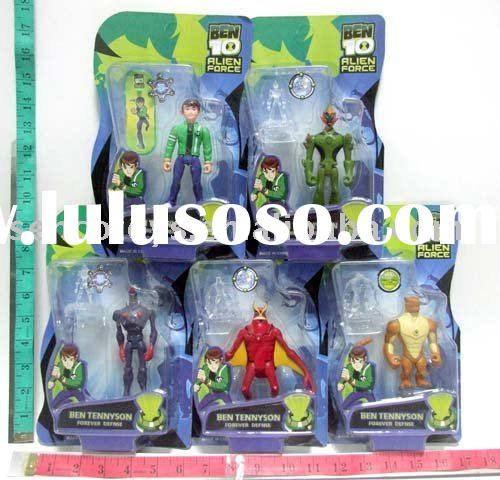 BEN 10 alien force action figure pvc toy set (5astd)