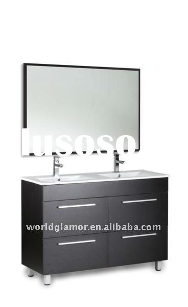 Bertch double sink bathroom vanity with ceramic basin FLORIDA