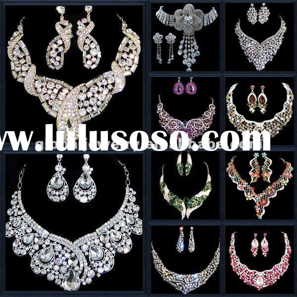 Bling u0026 unique gold bridal costume jewelry sets  sc 1 st  LuLuSoSo.com : costume jewelry set  - Germanpascual.Com