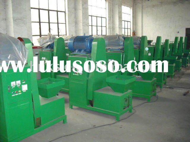 Briquette extruding machine for sawdust rice husk coco shell powder 008615238020686