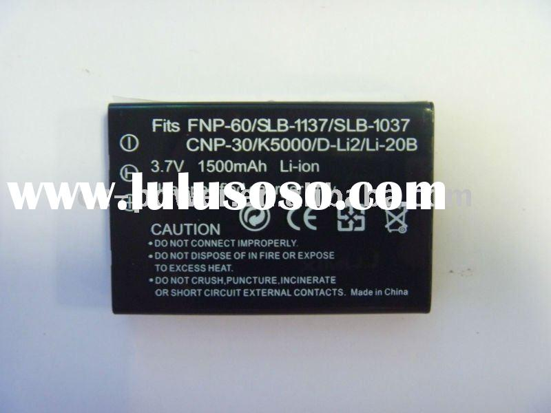 Camera battery for Casio NP-60