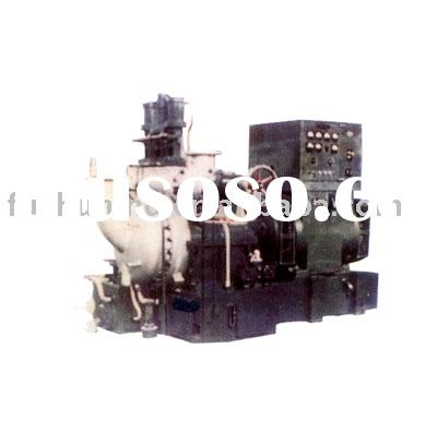 Cantilever steam turbine generator