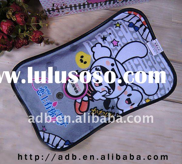 Cartoon Print Flannel Electric Hot Water Bottle